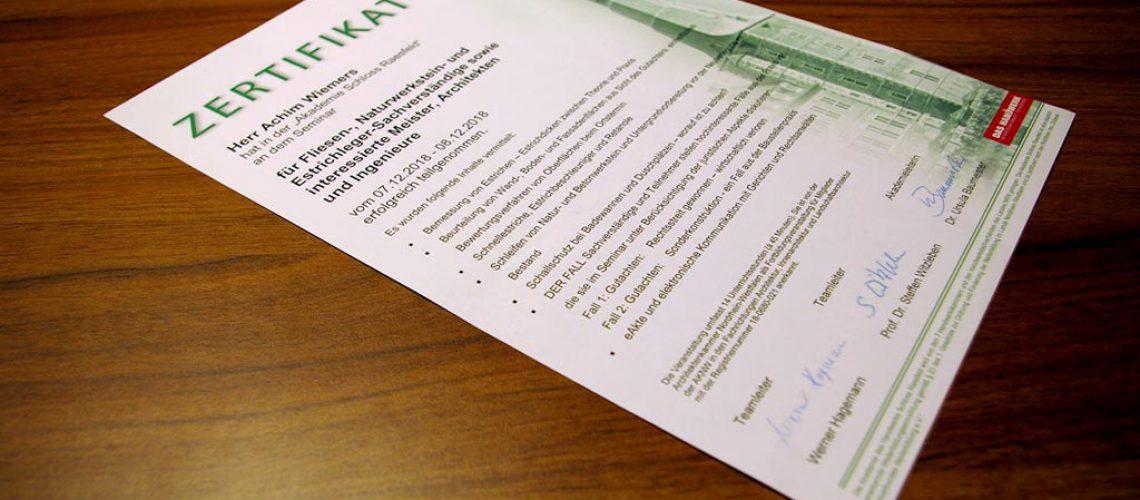 euroFEN Sachverständigenkreis e.V. – die regelmäßigen Seminare